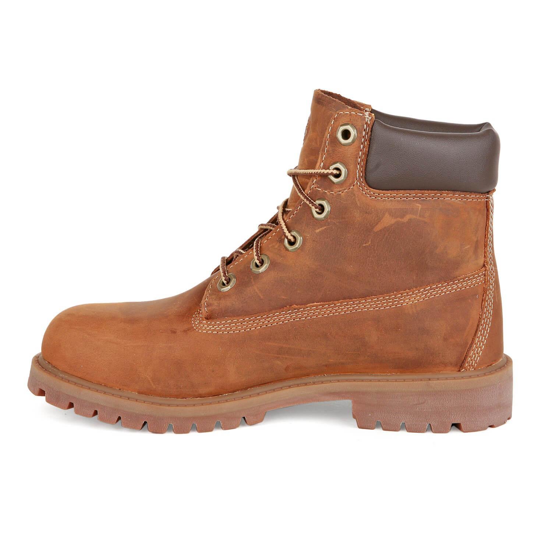 timberland 6 inch boots damen kinder stiefel rust medium. Black Bedroom Furniture Sets. Home Design Ideas