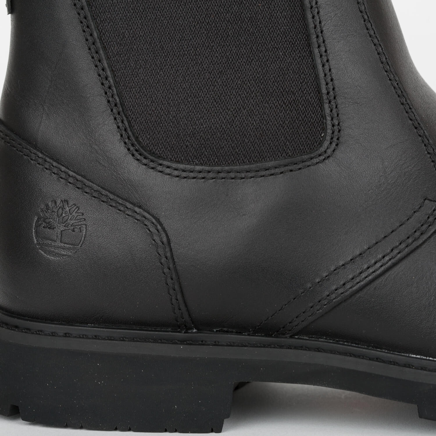 7130d9e94bc Details about Timberland Stormbucks Chelsea Boots Black Men's Boots Full  Grain Leather